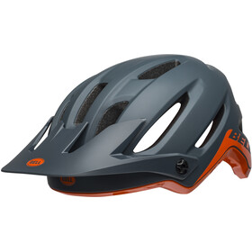Bell 4Forty Helmet cliffhanger matte/gloss slate/orange